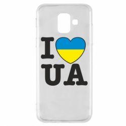 Чехол для Samsung A6 2018 I love UA