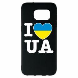 Чехол для Samsung S7 EDGE I love UA