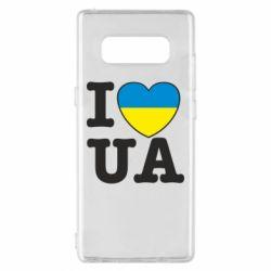 Чехол для Samsung Note 8 I love UA