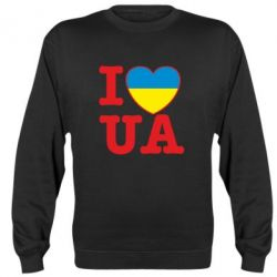 Реглан (свитшот) I love UA - FatLine