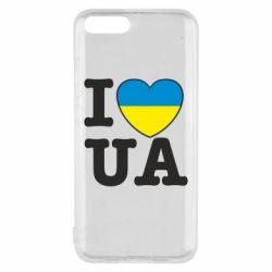 Чехол для Xiaomi Mi6 I love UA
