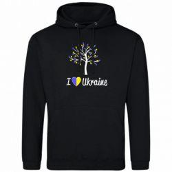 Толстовка I love Ukraine дерево - FatLine
