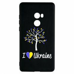 Чехол для Xiaomi Mi Mix 2 I love Ukraine дерево