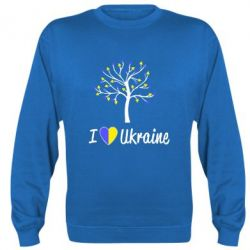 Реглан (свитшот) I love Ukraine дерево - FatLine