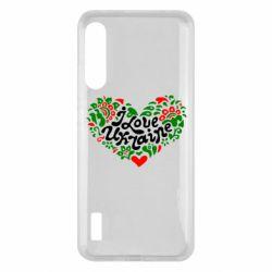 Чохол для Xiaomi Mi A3 I love Ukraine heart
