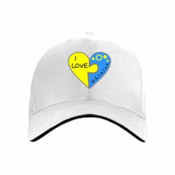 кепка I love Ukraine пазлы