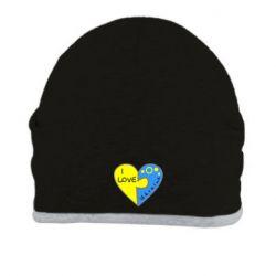 Шапка I love Ukraine пазлы - FatLine