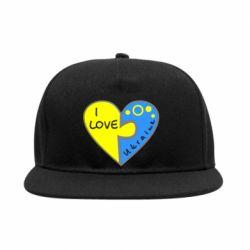 Снепбек I love Ukraine пазлы - FatLine