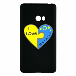 Чехол для Xiaomi Mi Note 2 I love Ukraine пазлы - FatLine