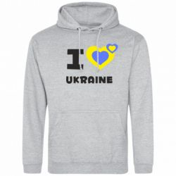 Толстовка I love Ukraine - FatLine