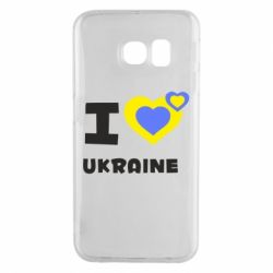 Чехол для Samsung S6 EDGE I love Ukraine