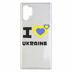 Чехол для Samsung Note 10 Plus I love Ukraine