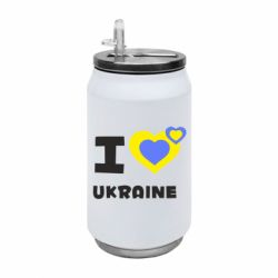 Термобанка 350ml I love Ukraine