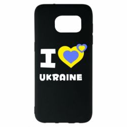Чехол для Samsung S7 EDGE I love Ukraine