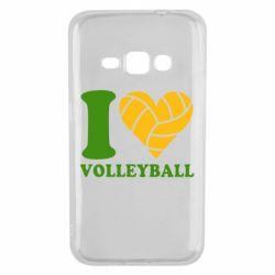 Чохол для Samsung J1 2016 I love volleyball