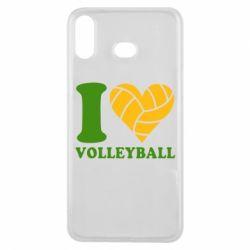 Чохол для Samsung A6s I love volleyball