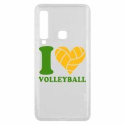 Чохол для Samsung A9 2018 I love volleyball