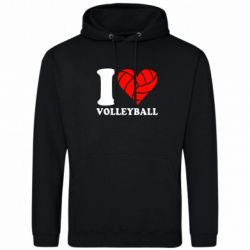 Толстовка I love volleyball - FatLine