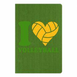 Блокнот А5 I love volleyball
