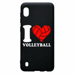 Чохол для Samsung A10 I love volleyball