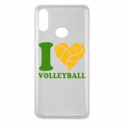 Чохол для Samsung A10s I love volleyball