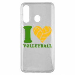 Чохол для Samsung M40 I love volleyball
