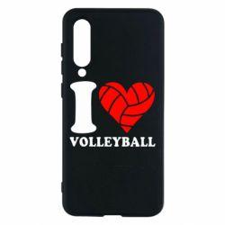 Чехол для Xiaomi Mi9 SE I love volleyball