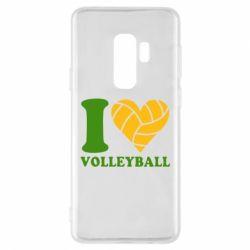 Чохол для Samsung S9+ I love volleyball