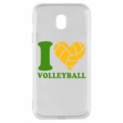 Чохол для Samsung J3 2017 I love volleyball