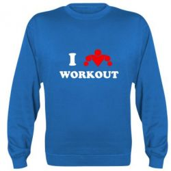 Реглан I love workout