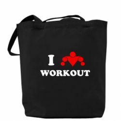 Сумка I love workout