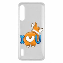 Чохол для Xiaomi Mi A3 I love you corgi