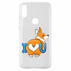 Чехол для Xiaomi Mi Play I love you corgi