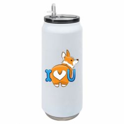 Термобанка 500ml I love you corgi