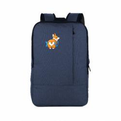 Рюкзак для ноутбука I love you corgi