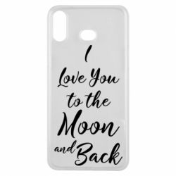 Купить Чехол для Samsung A6s I love you to the moon and back, FatLine