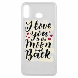 Чохол для Samsung A6s I love you to the moon