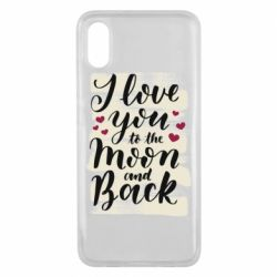 Чохол для Xiaomi Mi8 Pro I love you to the moon