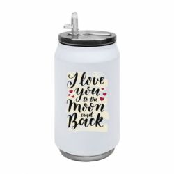 Термобанка 350ml I love you to the moon