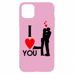 Чехол для iPhone 11 I love you