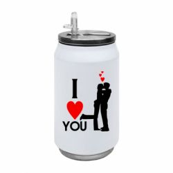 Термобанка 350ml I love you