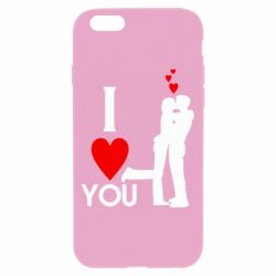 Чехол для iPhone 6/6S I love you