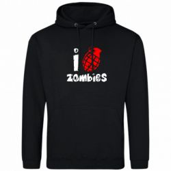 Толстовка I love zombies - FatLine