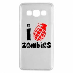Чехол для Samsung A3 2015 I love zombies