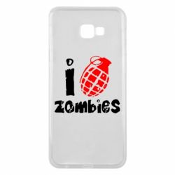 Чехол для Samsung J4 Plus 2018 I love zombies