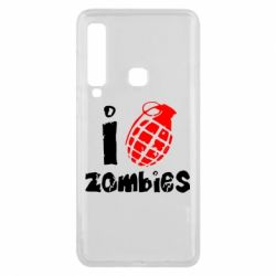 Чехол для Samsung A9 2018 I love zombies