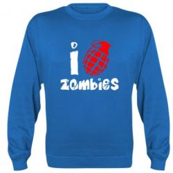 Реглан I love zombies - FatLine