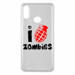 Чехол для Samsung A10s I love zombies