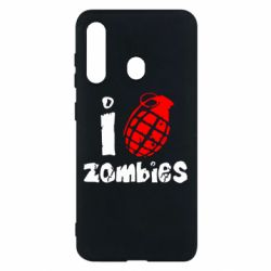 Чехол для Samsung M40 I love zombies