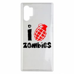 Чехол для Samsung Note 10 Plus I love zombies